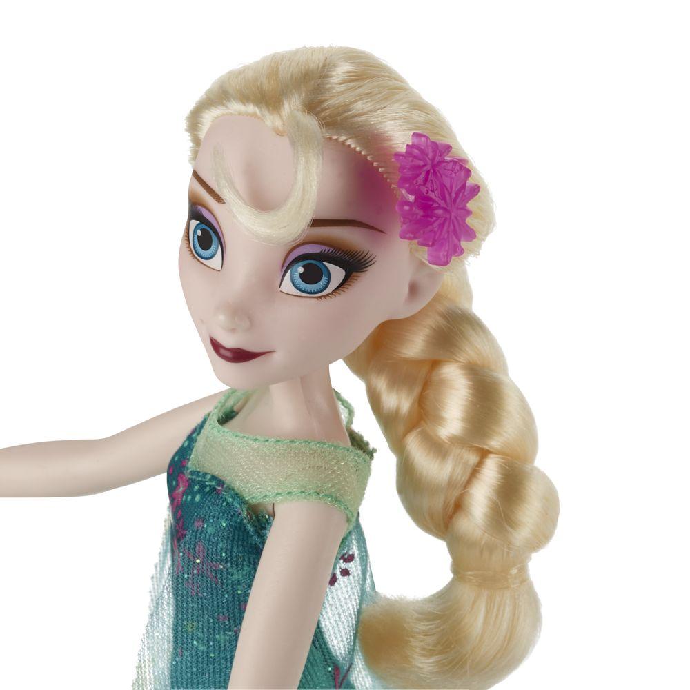 Boneca Frozen Fever Elsa Hasbro Ciatoy