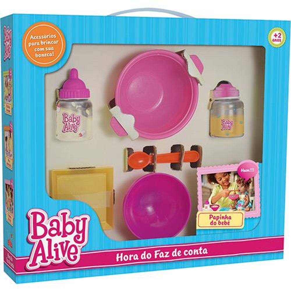 c0da088671 Hora do Faz de Conta Baby Alive Papinha do Bebe ELKA - Ciatoy
