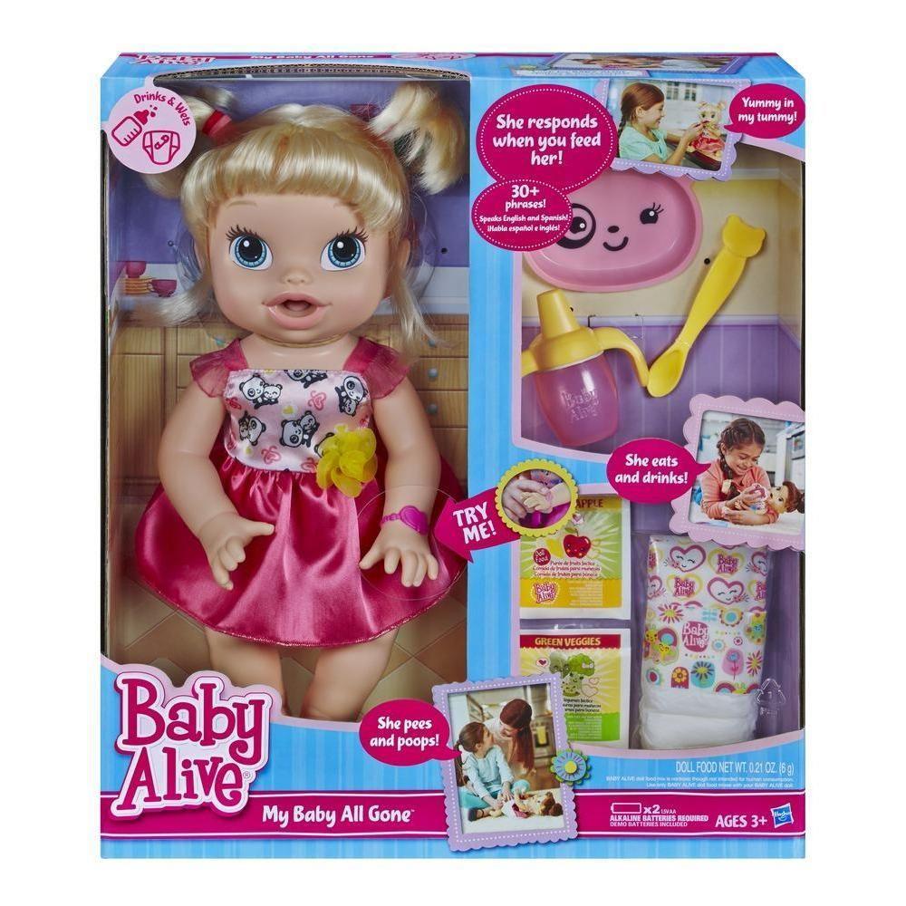 729f17647c Boneca Baby Alive Loira - Hora de Comer HASBRO - Ciatoy