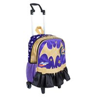 2486b8119f Mochilete Grande Super Hero Girls 17Y Bat Girl SESTINI