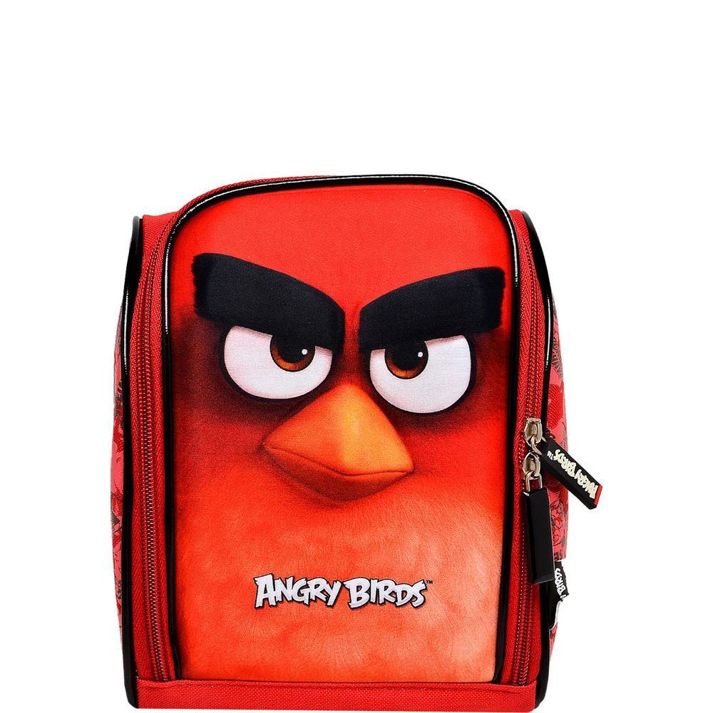 bfd0ca225 Lancheira 3D Angry Birds Vermelha - ABL801603 SANYA - Ciatoy