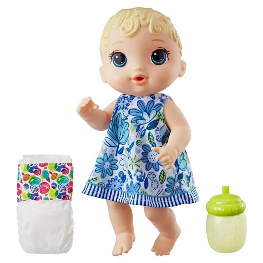 9a40e74f3d Boneca Baby Alive Hora do Xixi - Loira - E0385 - Ciatoy