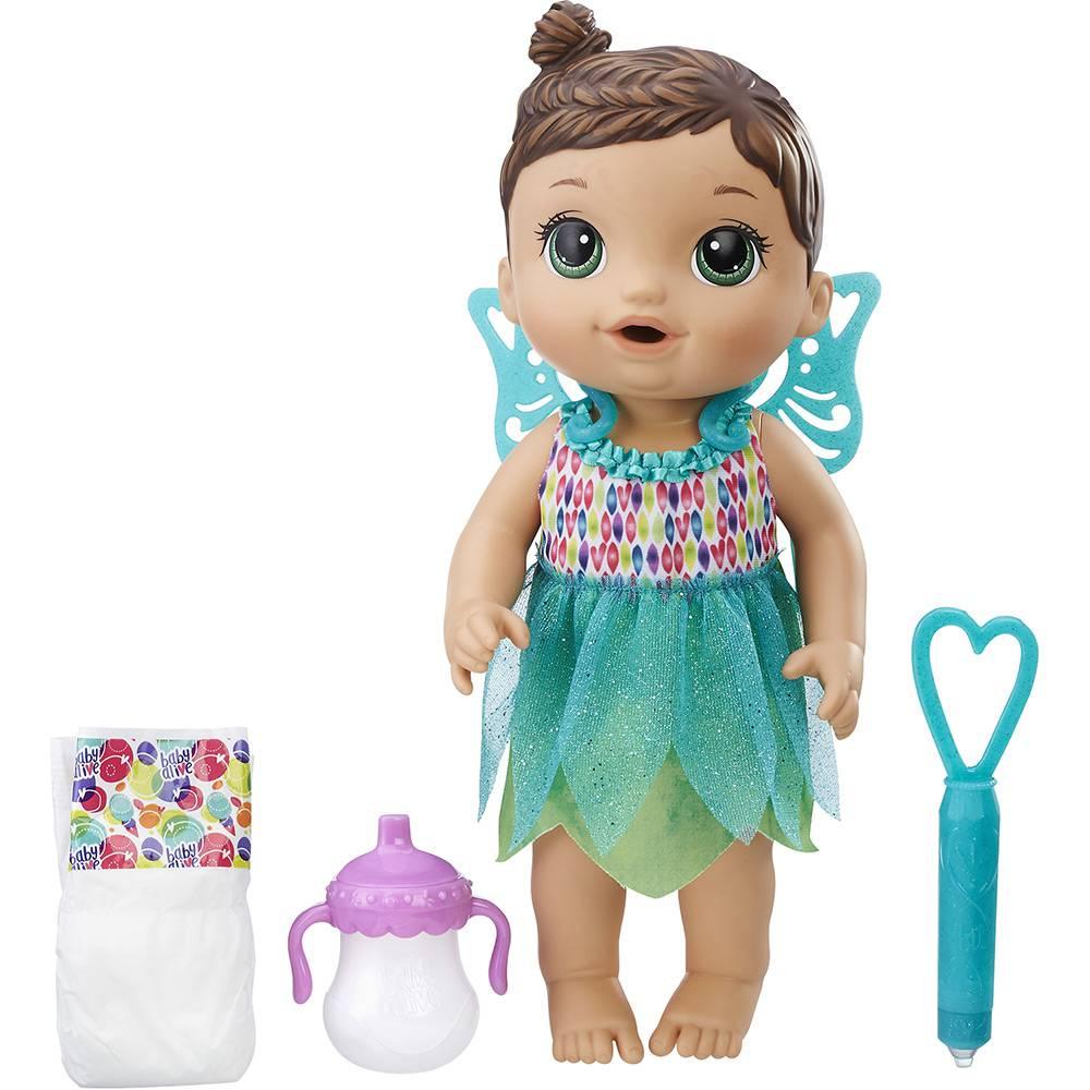 e9cc2589c2 Boneca Baby Alive Hora da Festa - Morena HASBRO - Ciatoy
