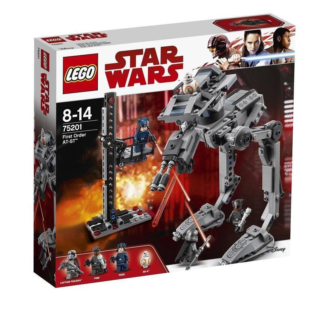 Lego Star Wars At St Da Primeira Ordem Ciatoy