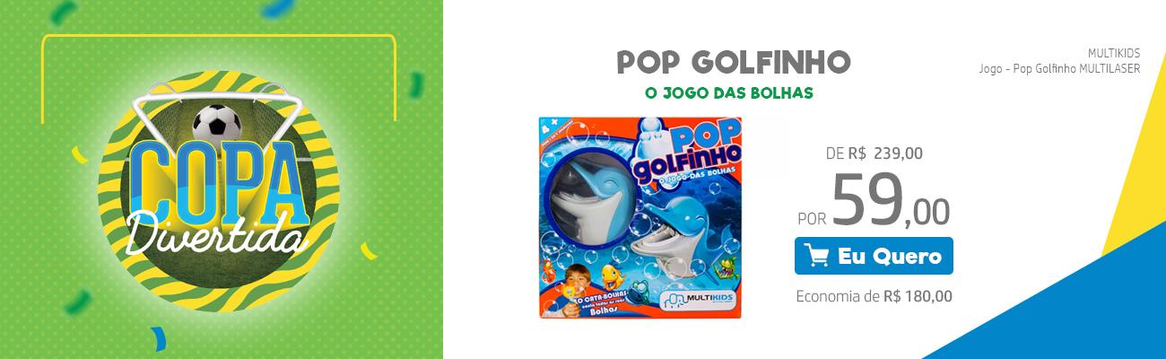 Pop Golfinho - O jogo das Bolhas