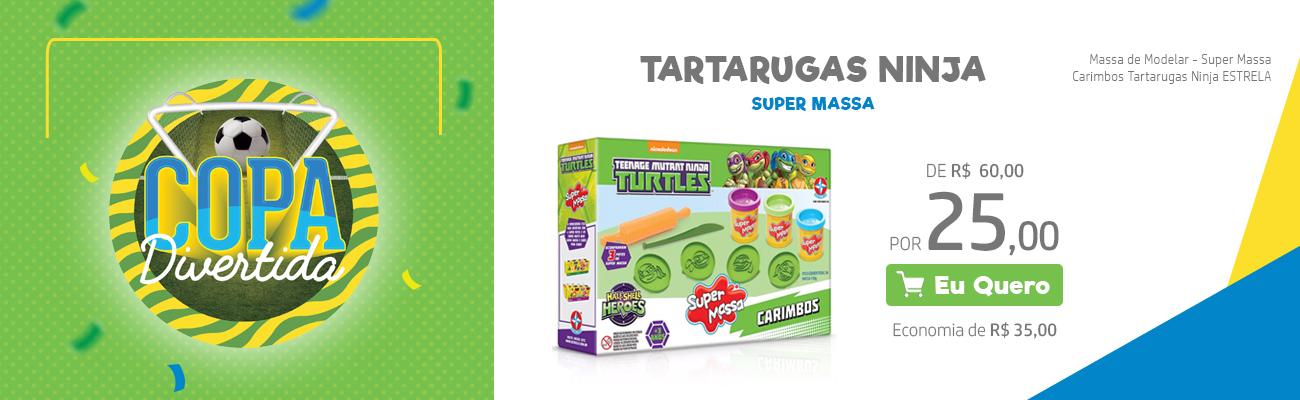 Tartaruga Ninja - Super Massa