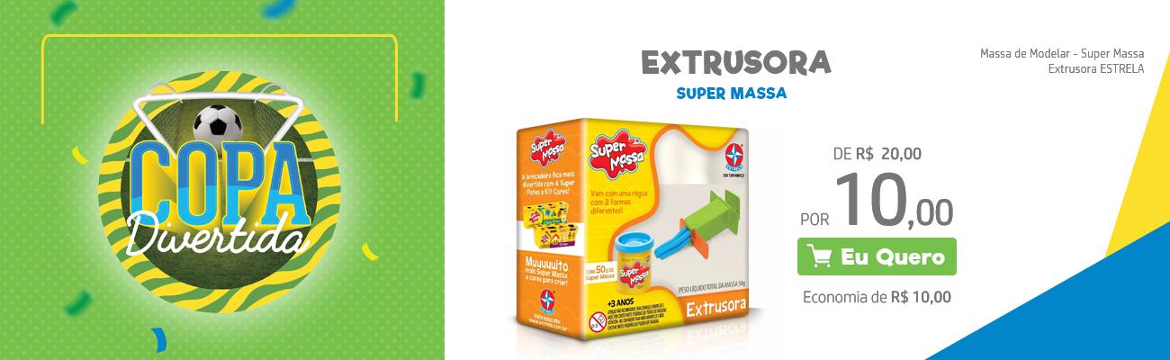 Extrusora Super Massa