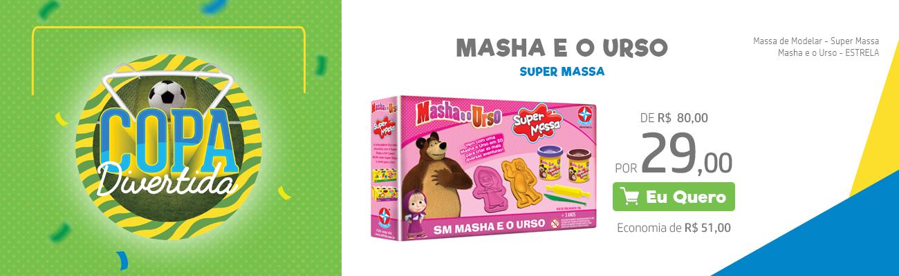 Masha e o Urso Super Massa