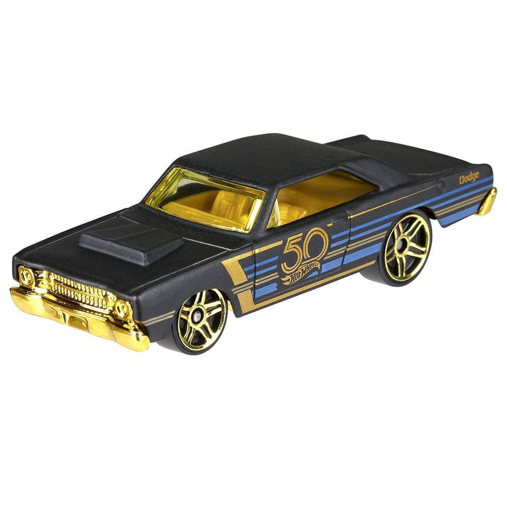 310436bac Carrinho - Hot Wheels Preto Dourado - 50 Anos - Dodge Dart - Ciatoy