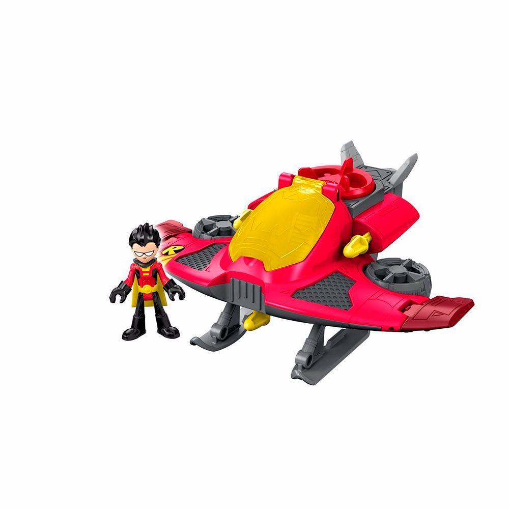 Boneco Imaginext Teen Titans Robin E Jato Ciatoy
