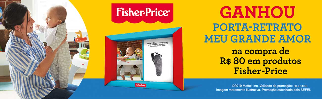 Mattel - Promocao Fisher Price