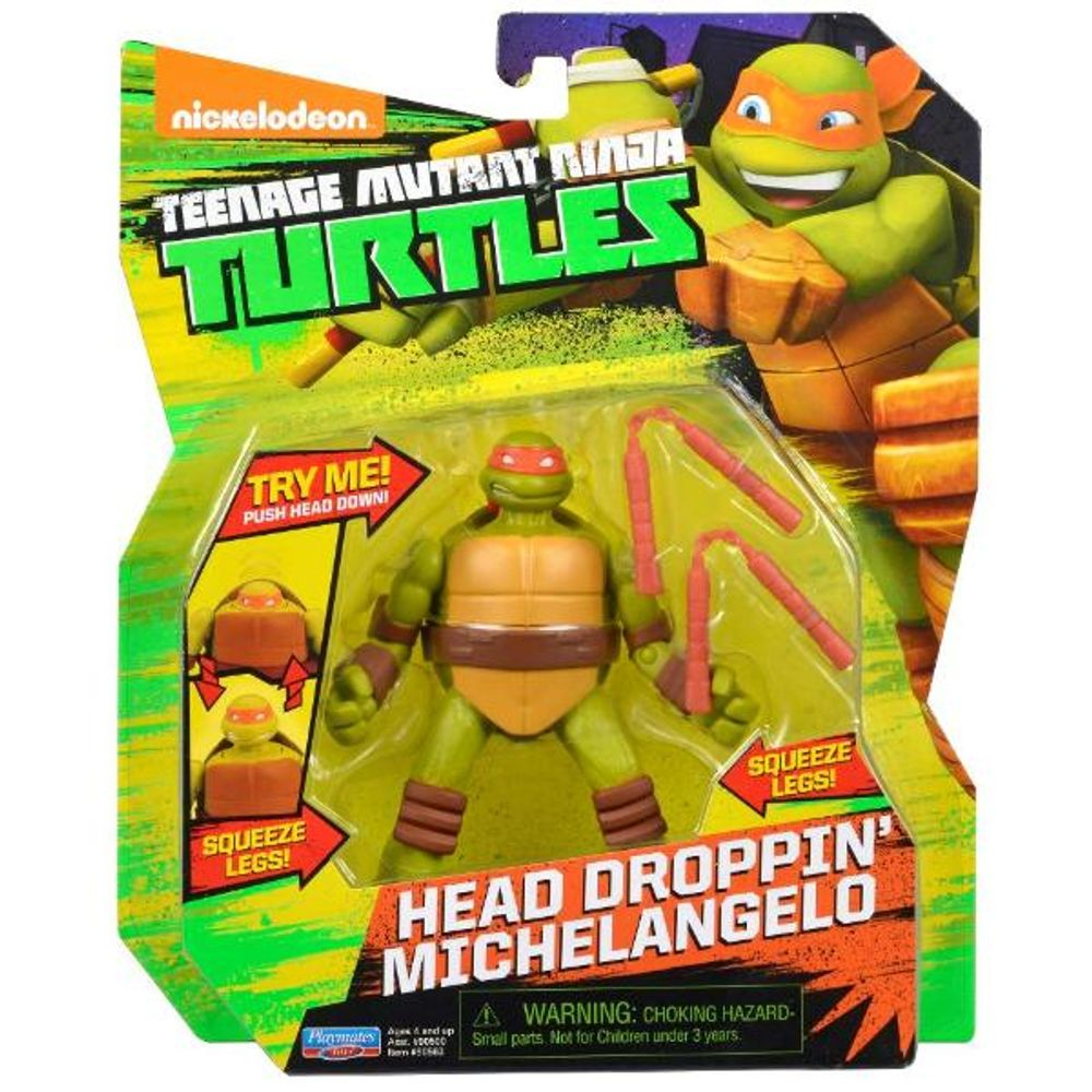 Boneco Tartarugas Ninja 12 Cm Michelangelo Multilaser Ciatoy