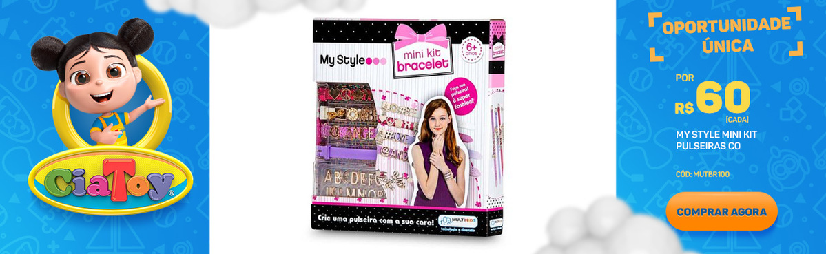 My Style Mini Kit Pulseiras - BR100